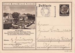 ALLEMAGNE 1941        ENTIER POSTAL/GANZSACHE/POSTAL STATIONERY CARTE ILLUSTREE DE HANNOVER - Ganzsachen