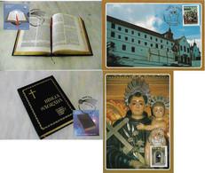 Brazil 2011 2 Complete Series 2 Maximum Card Each Stamp Holy Bible Catholic Religion Christmas St. Anthony San Francisco - Tarjetas – Máxima