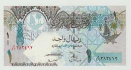 Banknote QATAR Central Bank 1 Riyal 2008 UNC - Oman
