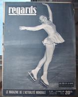 REGARDS : 1949 : ACIER LORRAIN . 3° AGE . PATINAGE . HENRI SALVADOR . ACTUALITES . Etc .. - Algemene Informatie