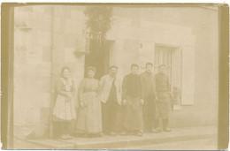 ORBIGNY - Carte Photo - Carte écrite Par Couratin, Le Maréchal Ferrant - Autres Communes