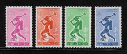 VIET-NAM DU SUD ( VIET - 131 )  1962  N° YVERT ET TELLIER   N° 188/191   N** - Vietnam