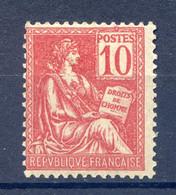 TYPE MOUCHON N° 116 NEUF* Charnière - 1900-02 Mouchon