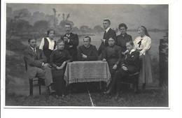 2 Fotokaarten  Bornem-Temse - Familieportretten. - Bornem