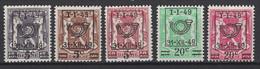 Belgique 1949: COB N° 798/802, **, MNH. Cote 2020 : 0,75 €. - Unused Stamps