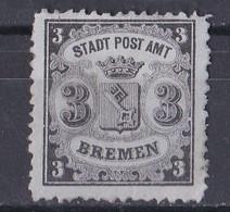 Bremen 1866 - Mi.Nr. 11 - Ungebraucht Unused - Bremen
