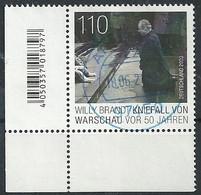 ALEMANIA 2020 - MI 3579 Willy Brandt - Gebruikt