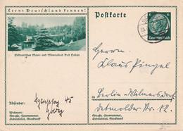 ALLEMAGNE 1934   ENTIER POSTAL/GANZSACHE/POSTAL STATIONERY CARTE ILLUSTREE - Ganzsachen