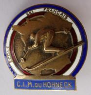 Insigne SKI MONTAGNE ECOLE SKI FRANCAIS C.I.M. DU HOHNECK - Sport Invernali