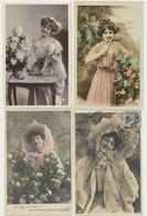 Lot De 36 Cartes - Fantaisie - Femmes - 5 - 99 Cartes