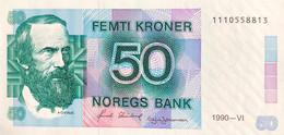 Norway 50 Kroner, P-42e (1990) - UNC - Norway