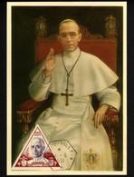 Monaco 1951 - Maximumkarte Papst PIUS XII - Anno Santo - Non Classificati