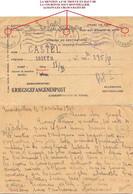 MONTPELLIER A.F HERAULT OMec KRAG 24 X 40 CARTE=> Prisonnier Au OFLAG II/B Arnswalde En Allemand, Choszczno En Polonais - WW II