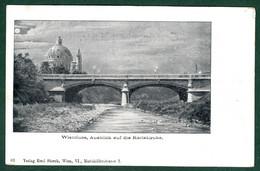 Wienfluss, Ausblick Auf Die Karlskirche. - Altri