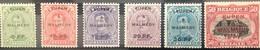 België, 1920, OC55-60, Postfris **, OBP 78€ - [OC55/105] Eupen/Malmédy