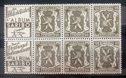 België, PUc74/75A, Postfris **, OBP 11€ - Pubblicitari