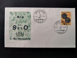 PORTUGUESE INDIA COVER - 1961 STAMP DAY - GÔA - DIA DO SELO (STB10-C4) - India Portoghese