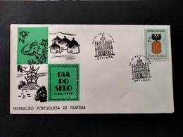 PORTUGUESE INDIA COVER - 1958 STAMP DAY - GÔA - DIA DO SELO (STB10-C4) - India Portoghese