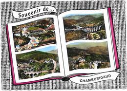 30 CHAMBORIGAUD - Souvenir De CHAMBORIGAUD Dans Livre Ouvert - SM - Chamborigaud