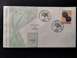 PORTUGUESE INDIA COVER - 1960 STAMP DAY - GÔA - DIA DO SELO (STB10-C4) - India Portoghese