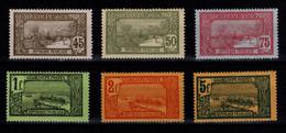 Guadeloupe - YV 66 / 67 / 68 / 69 / 70 / 71 N* Cote 20,90 Euros - Ungebraucht