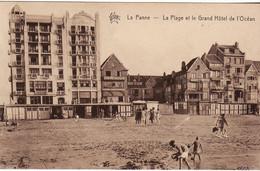 DE PANNE LA PANNE PLAGE ET GRAND HOTEL - De Panne