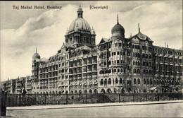 CPA Mumbai Bombay Indien, Taj Mahal Hotel, Gesamtansicht - Indien