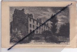 Paris (75) 18ém Arr.) Vieux Montmartre 1880 - Château Des Brouillards (Eau-Forte) - Arrondissement: 18
