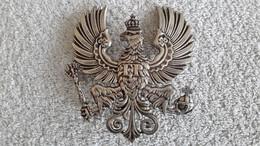 RARE Schöner Mützenadler Emblem FR Pickelhaube Linienadler Kinderhelm Preußen Helmwappen Kaiserreich - 1914-18