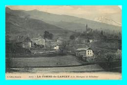 A928 / 933 38 - LA COMBE DE LANCEY Et Les Montagnes De Belledonne - Sin Clasificación