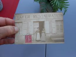 Carte Photo Commerce Boutique St Didier Sur Chalaronne Près Thoissey Le Restaurant Vayer Restaurateur - Other Municipalities