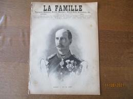 LA FAMILLE DU 4 AOUT 1889 GEORGES Ier ROI DE GRECE - Magazines - Before 1900