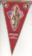 Banderin E00025: Banderin Rcuerdo De Santiago De Compostela - Patches