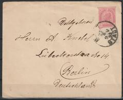 Oostenrijk Brief 1893  Naar Berlijn / Opruiming, Clearance Sale, Déstockage. - Covers & Documents