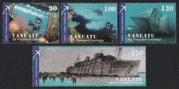 Vanuatu 2006 - Mi-Nr. 1306-1309 ** - MNH - Schiffe / Ships - Vanuatu (1980-...)