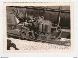 Photos Photo Originale TRAIN Gros Plan Locomotive Vapeur à 77 Montereau - Trains