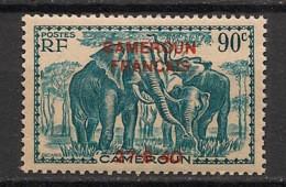 Cameroun - 1940 - N°Yv. 222 - Elephant 90c - Surcharge 27.8.40 - Neuf GC ** / MNH / Postfrisch - Ungebraucht