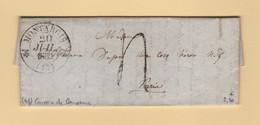 Montargis - 43 -Loiret - 20 Juil 1832 - Taxe Tampon - 1801-1848: Precursores XIX