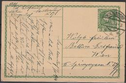 Oostenrijk Postkaart 1914 Van Winzendorf Naar Wenen  / Opruiming, Clearance Sale, Déstockage. - Covers & Documents