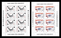 Turkish Cyprus 2020 Mih. 872/73 Medicine. Social Welfare And Fight Against COVID-19 Coronavirus (2 M/S) MNH ** - Neufs
