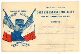 VAUCLUSE 1915 CPFM PRIVEE IMPRIMERIE J.BRUN ET CIE A CARPENTRAS DATEE DE VALREAS LE 27/03/1915 - 1877-1920: Semi Modern Period