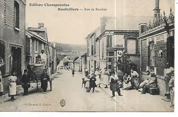 51 - HAUTVILLERS - Rue De Bacchus  (Très Belle Animation) - Autres Communes