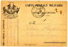 RHONE CPFM PRIVEE 1914 IMPRIMERIE L. BASCOU A LYON - 1877-1920: Semi Modern Period