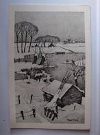 ILLUSTRATEURS - Steph Kraag - Paysage D'hiver - Other Illustrators