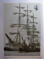 TRANSPORTS - BATEAU - Voilier Tois Mâts - Sailing Vessels
