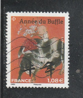 FRANCE 2021 ANNEE DU BUFFLE OBLITERE (petit Modele) YT 5468 - Oblitérés