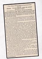 =   OORLOGSSLACHTOFFER °W.BOCKAERT OEDELEM +Bombardement POPERINGE Mei 1940 - PROVEN  Apotheker Te MELLE - Santini