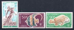 W-12 Comores  PA N° 22 à 24 **  A Saisir !!! - Luchtpost