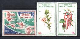 W-12 Comores  PA N° 36 à 38 **  A Saisir !!! - Luchtpost