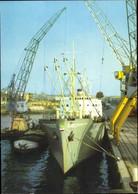 CPA Frachter MS Usedom Im Hafen, VEB Deutsche Seereederei Rostock - Non Classificati